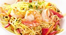 Noodles with Chicken, Prawns and Ham