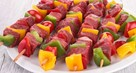 Lamb and Pepper Kebabs