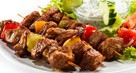 Lamb Kebabs with Mint and Cucumber Dip