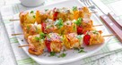 Colorful Fish Kebabs