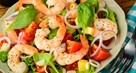 Curried Prawn Salad