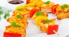 Marinated Fish Kebabs