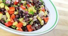 Black Bean Salad with Rice