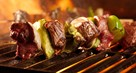 Turkish Lamb Skewers