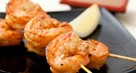Prawn Skewers with Coconut Sambal
