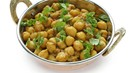 Spicy Chickpeas Cooked Dry