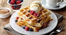 Sweet Coconut Waffles