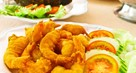 Spicy Batter-Fried Prawns