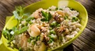 Risotto with Chickpeas and Parsley
