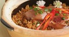 Fried Rice with Pork and Soy Sauce