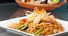 Stir Fried Crabs With Noodles