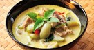 Thai Green Curry with Straw Mushrooms