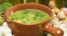 Spinach and Bean Curd Soup