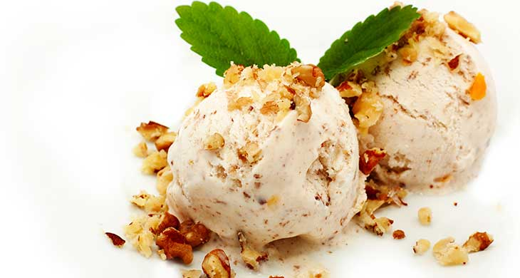 Coconut and Lemon Grass Ice Cream