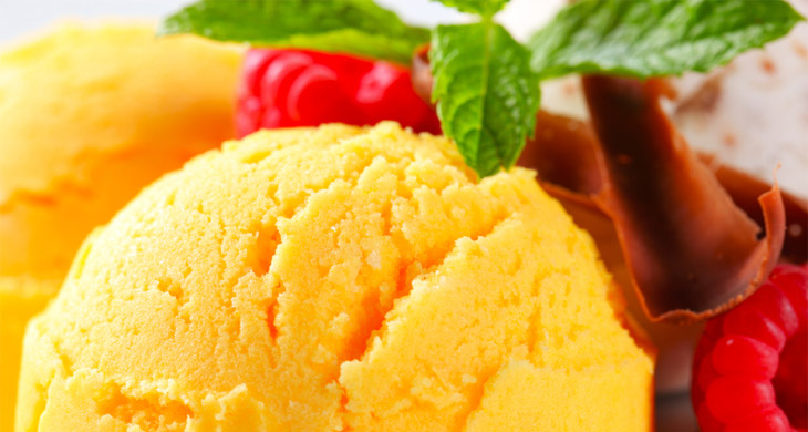 Tasty Mango Ice Cream